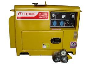 Дизельный электрогенератор LITONG LT-5500SE
